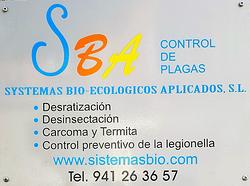 Imagen de SBA/ CONTROL DE PLAGAS