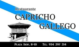 Restaurante Capricho Gallego