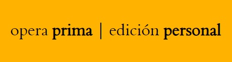Editorial opera prima