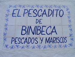 Restaurante El Pescadito de Binibeca