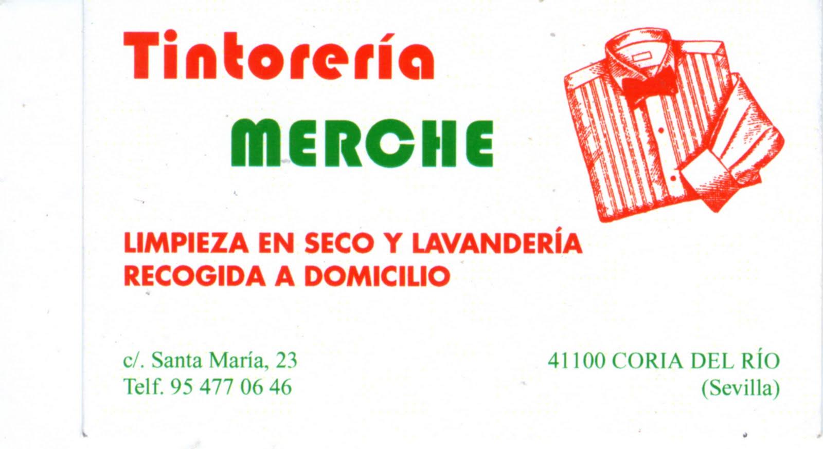 TINTORERIA MERCHE - TINTORERIA EN CORIA DEL RIO