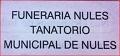 Funeraria Nules Tanatorio Municipal Nules