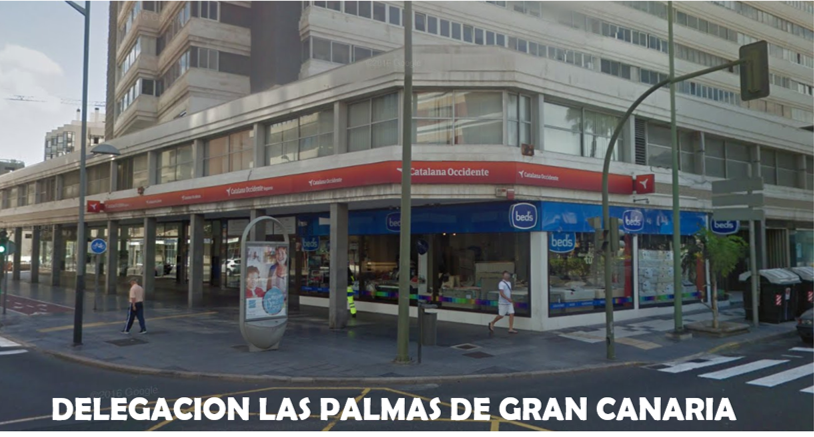Seguros catalana occidente las palmas de gran canaria for Catalana occidente oficinas