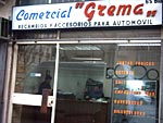 Comercial Grema AUTOMOVILES RECAMBIOS Y ACCESORIOS: ESTABLECIMIENTOS