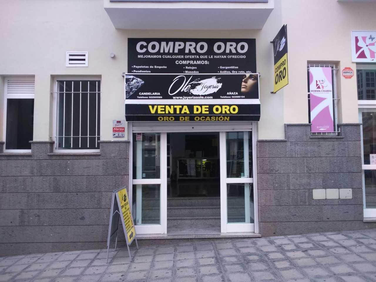 3b546da63947 Joyería Olé - Candelaria - Calle Alcalde Juan Castellano Castellano ...