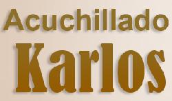 Acuchillado Karlos