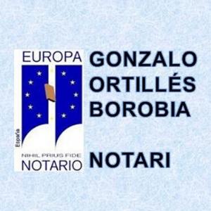 Notario Gonzalo Ortillés Borobia