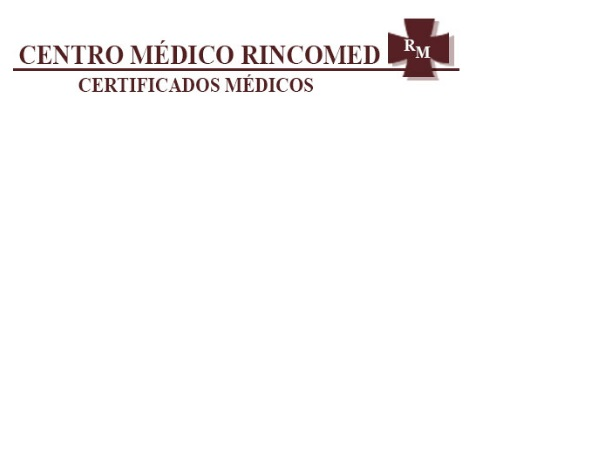 Centro Médico Rincomed - Certificados Médicos (la Rinconada)