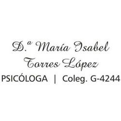 Consulta Psicológica M.ª Isabel Torres