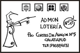 Administración de lotería Nº 1 de Calatayud