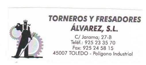 Torneros Y Fresadores Álvarez S.l.
