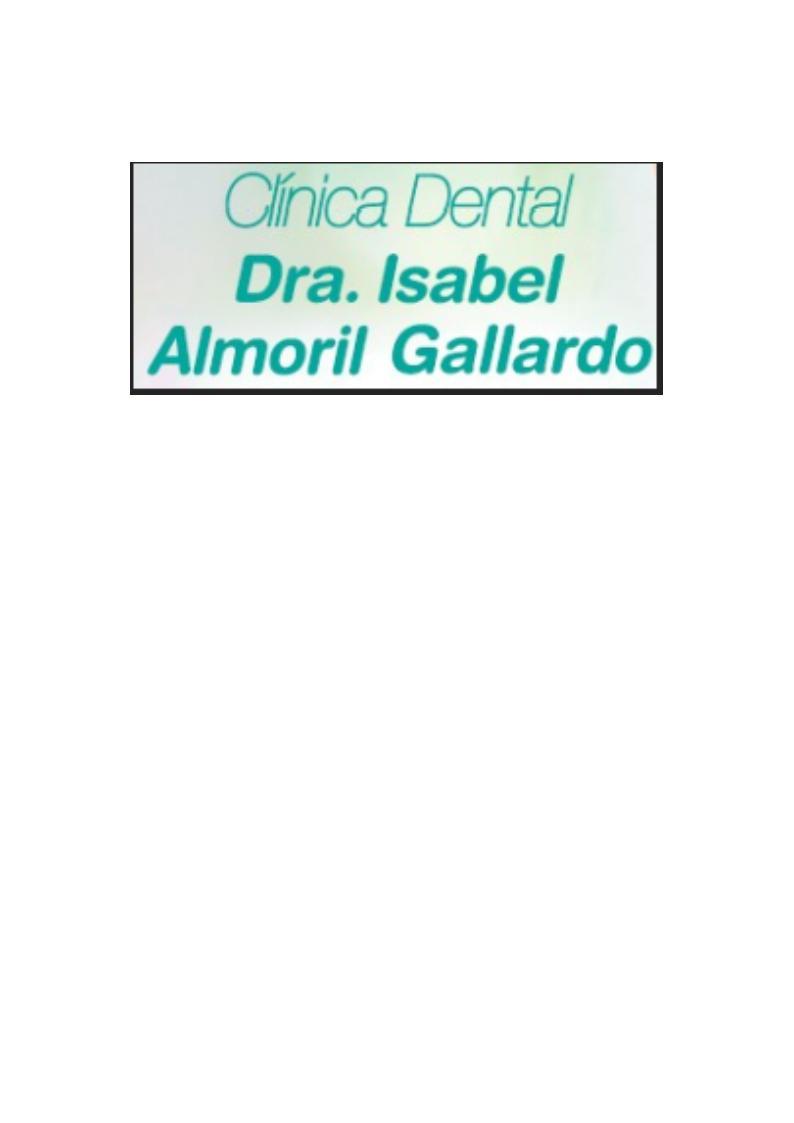 Clínica Dental Dra. Isabel Almoril Gallardo