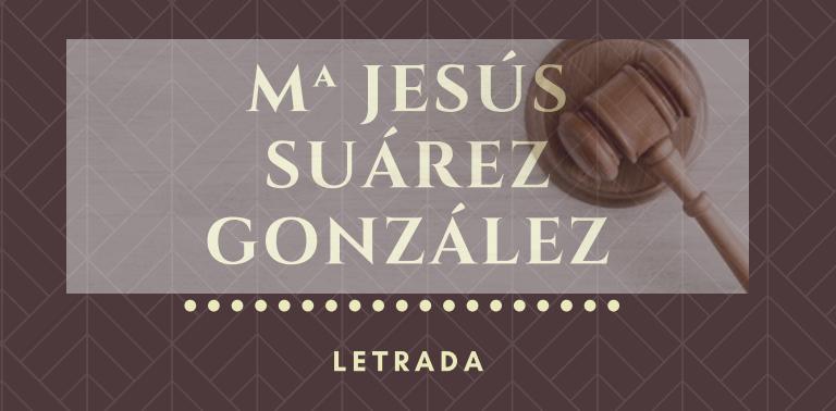 Mª Jesus Suarez Gonzalez Letrada