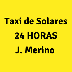 Taxi de Solares 24 HORAS J. Merino