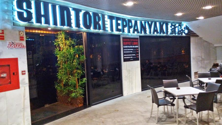 Shintori Teppanyaki COCINA ASIÁTICA