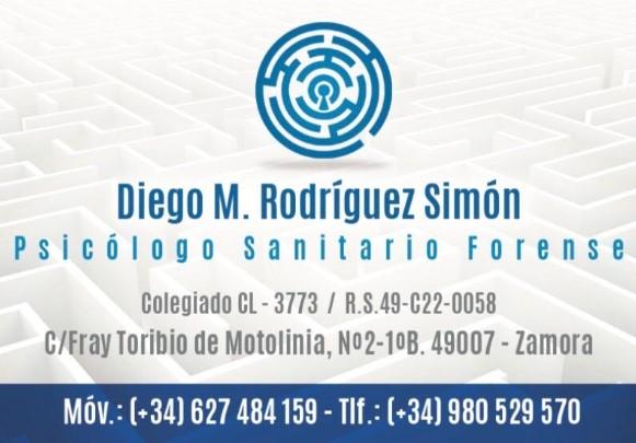 Psicólogo Diego Manuel Rodríguez Simón.