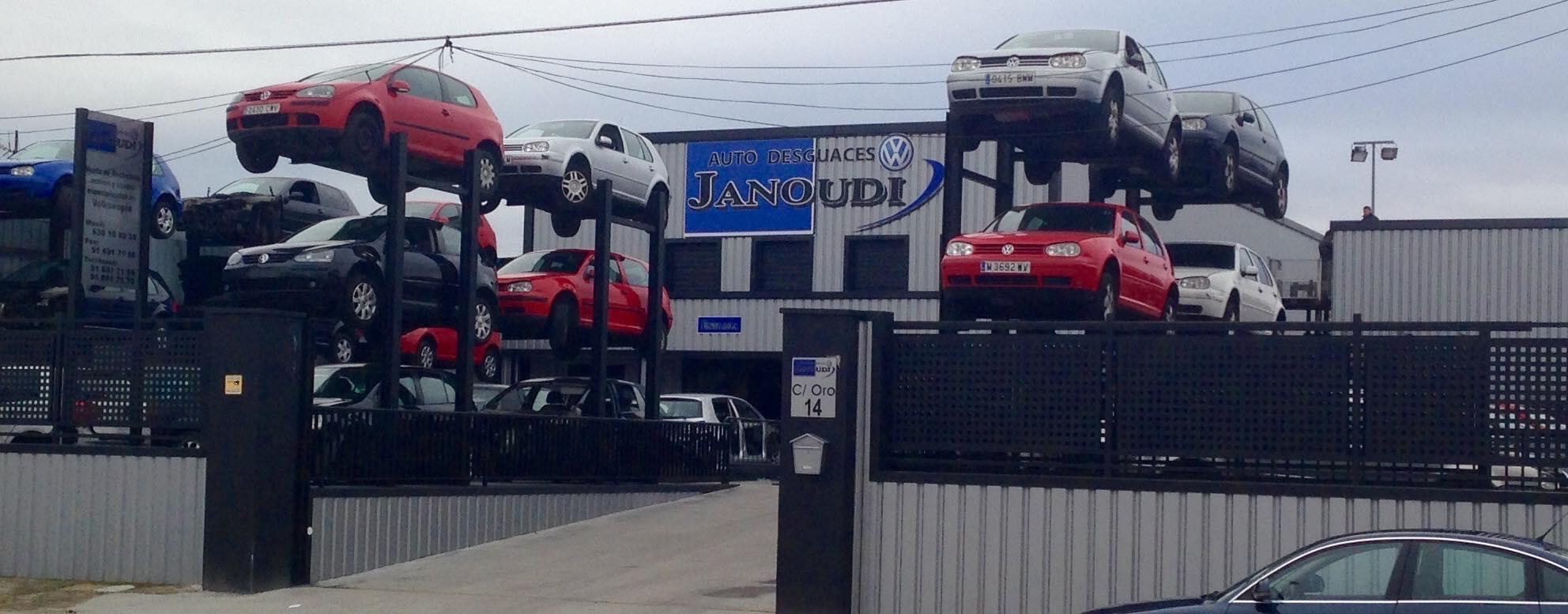 Auto Desguaces Janoudi San Martín de la Vega