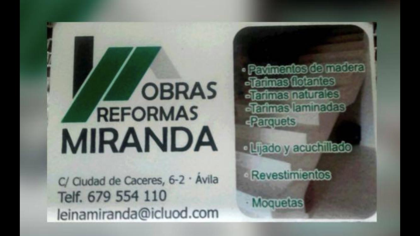 Obras y Reformas Miranda