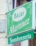 Sombrerería-Bazar Martinez