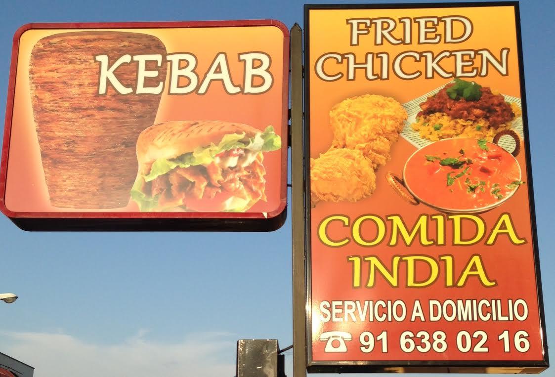 Kebab Hut & Fried Chicken COCINA INDIA