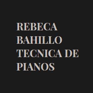 Rebeca Bahillo Técnica de pianos