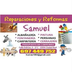REPARACIONES Y REFORMAS Samuel - fontanería y cerrajeria 24 horas