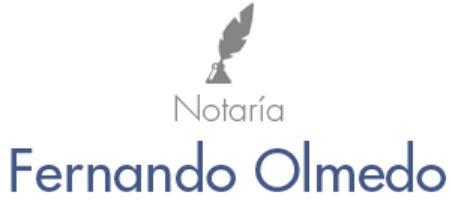 Notaría Fernando Olmedo