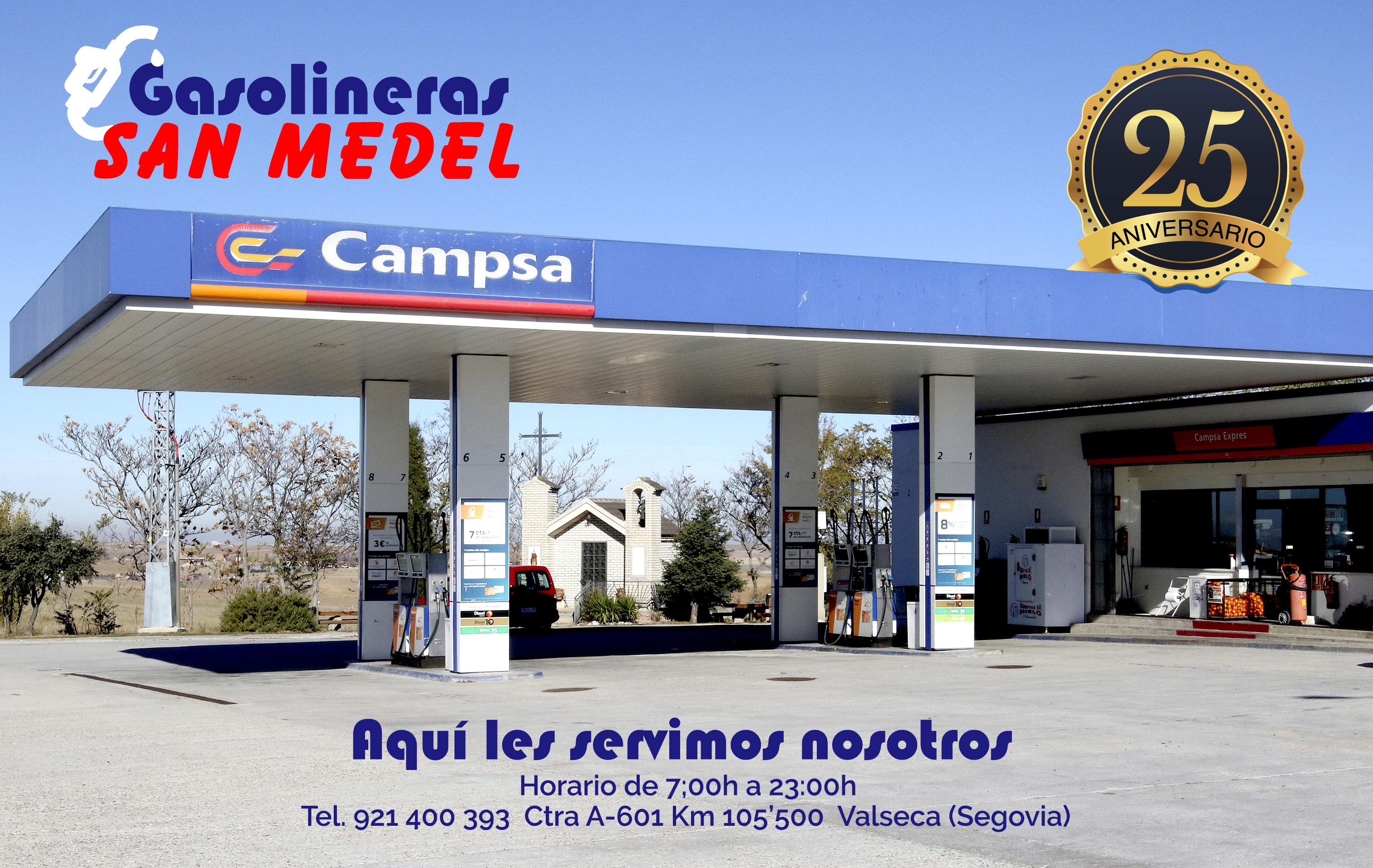 Gasolineras San Medel
