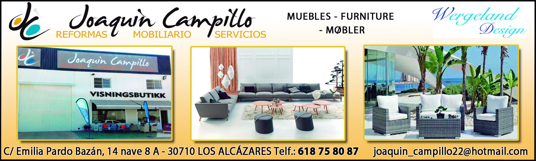 Joaqu N Campillo Mart Nez Los Alc Zares Calle Emilia Pardo  # Muebles Joaquin