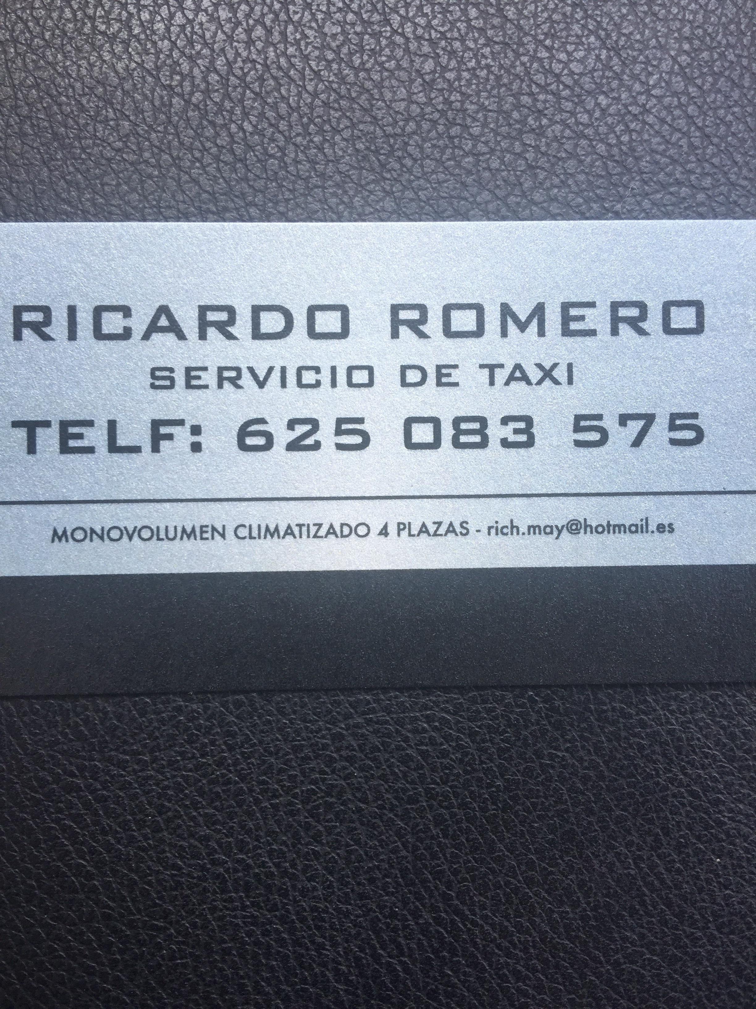 RICARDO ROMERO ALIAGA