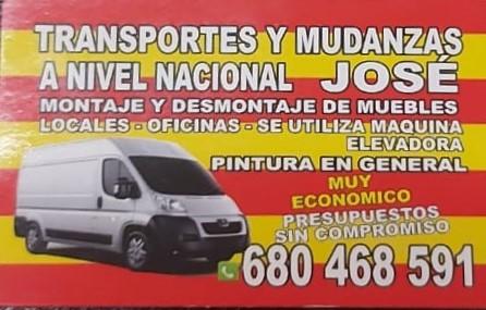 Mudanzas y transportes José