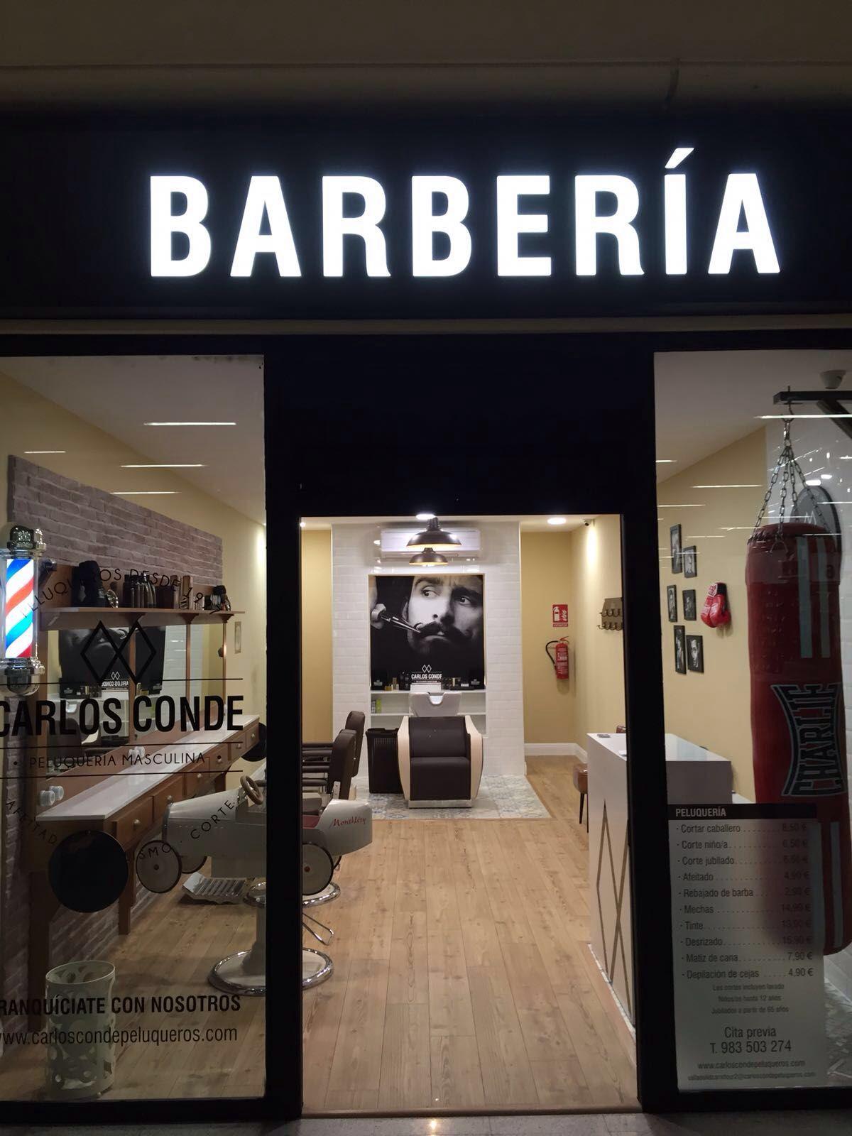 Barber a carlos conde valladolid costa brava 2 - Fachadas de peluquerias ...