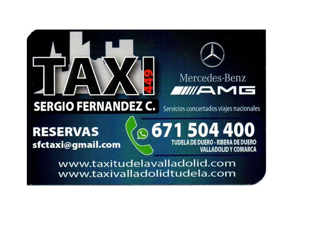 Taxi, Tudela de Duero, Ribera de Duero, Valladolid y provincia
