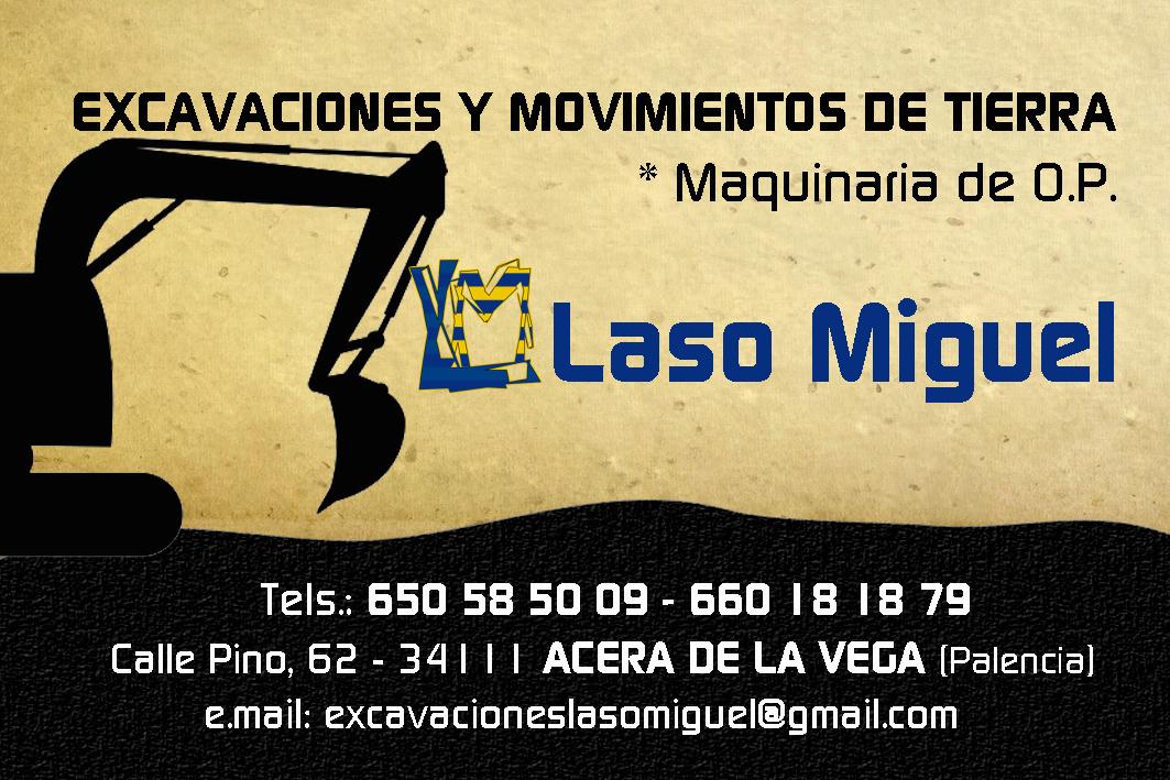 Excavaciones Y Movimientos De Tierra Laso Miguel