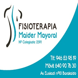 Fisioterapia Maider Mayoral