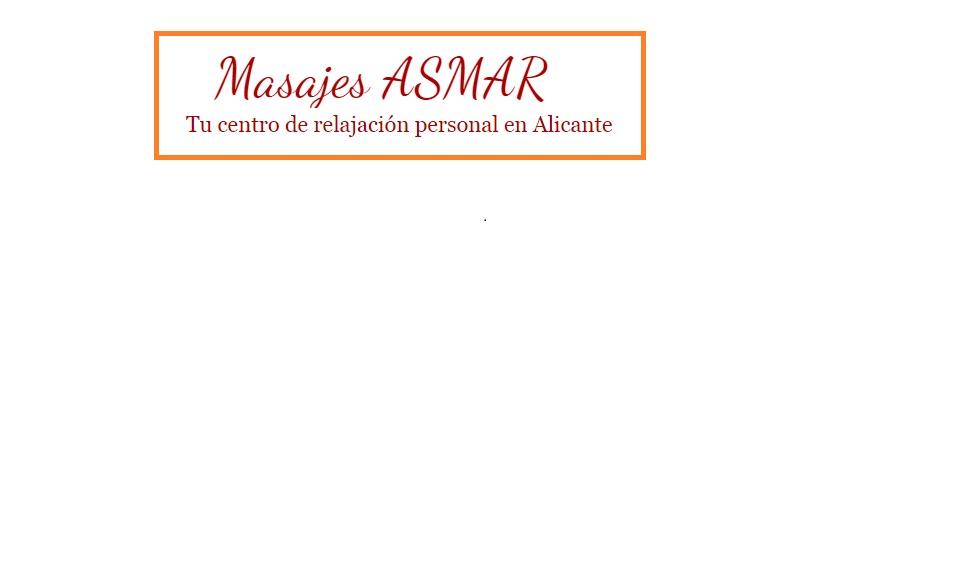 MASAJES ASMAR