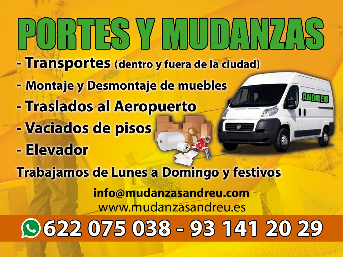 MUDANZAS Y TRANSPORTES ANDREU