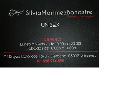 Silvia Martínez Bonastre Unisex