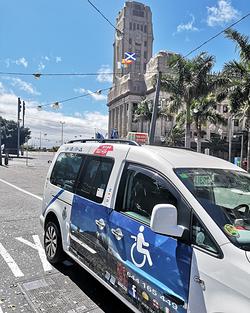 Imagen de Taxistenerife, Adaptado en Tenerife