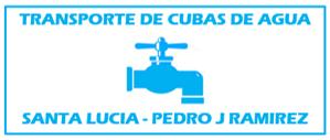 Transportes De Agua Santa Lucía - Pedro J. Ramírez