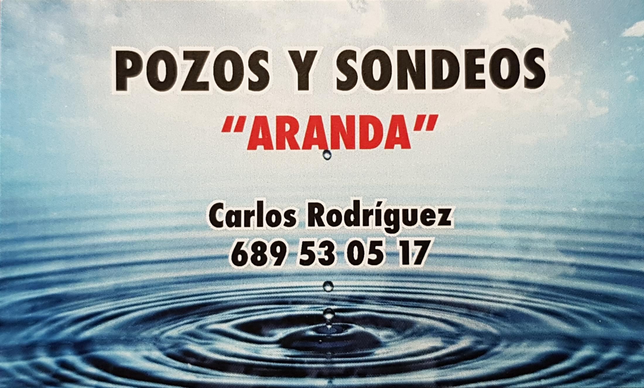 POZOS Y SONDEOS ARANDA