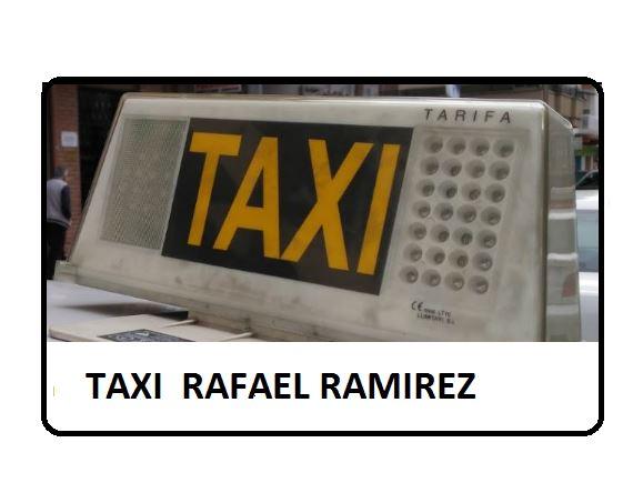 TAXI RAFAEL RAMIREZ - ALCALÁ LA REAL