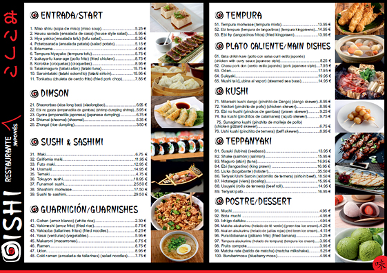 Oishi Restaurante Japonés 5