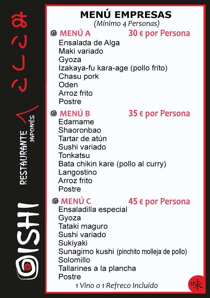 Oishi Restaurante Japonés 8