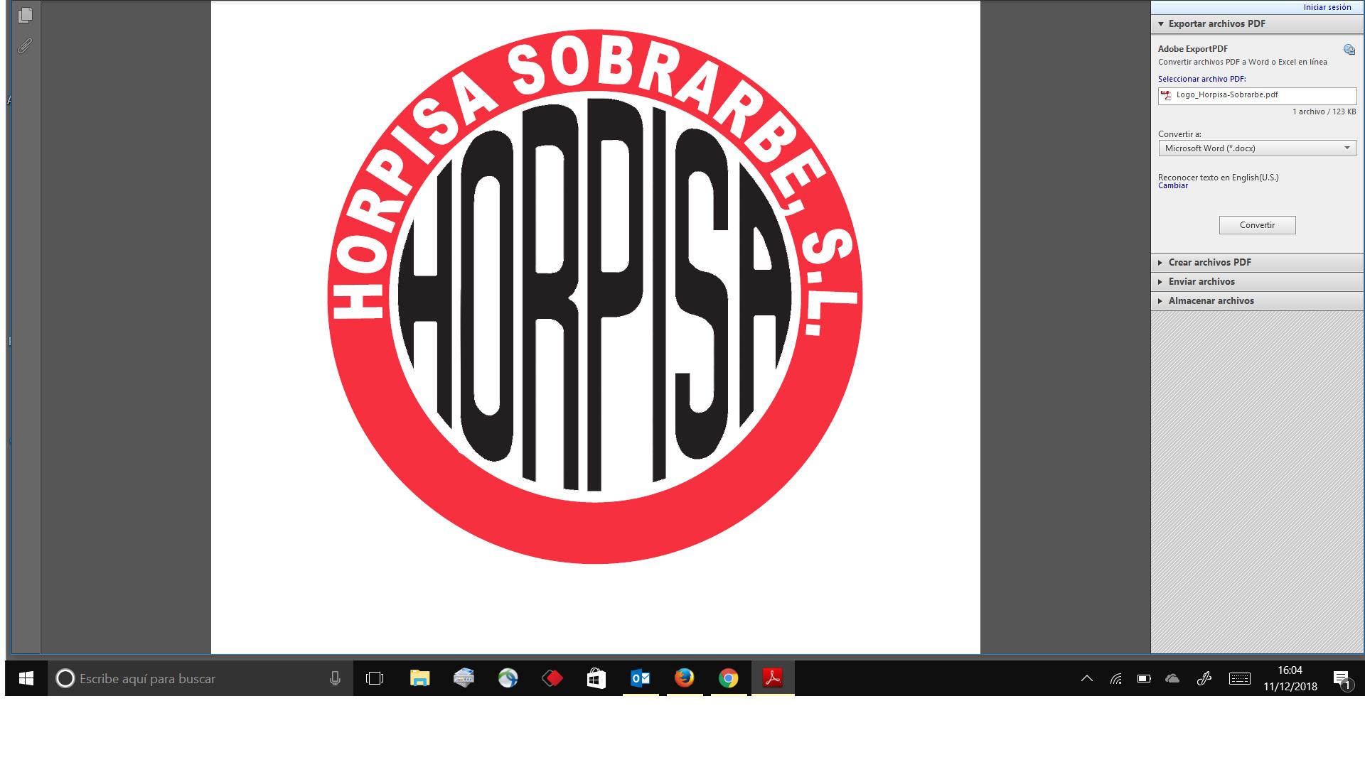 HORPISA SOBRARBE