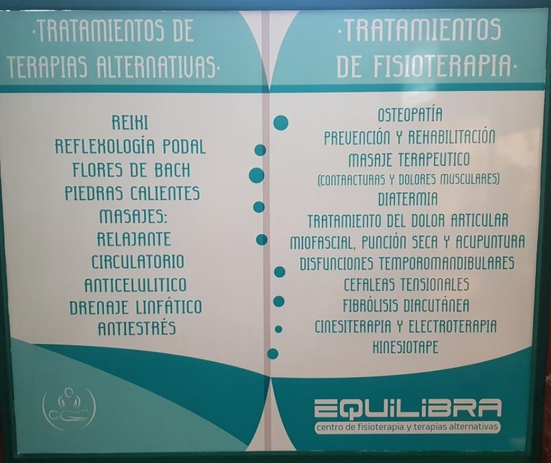 EQUILIBRA CENTRO DE FISIOTERAPIA Y TERAPIAS ALTERNATIVAS 8