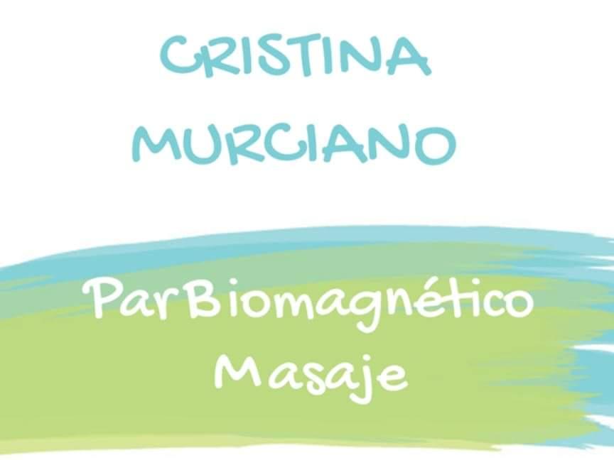 Par Biomagnético y Masaje Cristina Murciano
