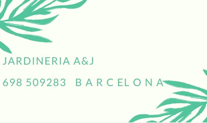 Jardinería A&J