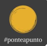 #PONTEAPUNTO