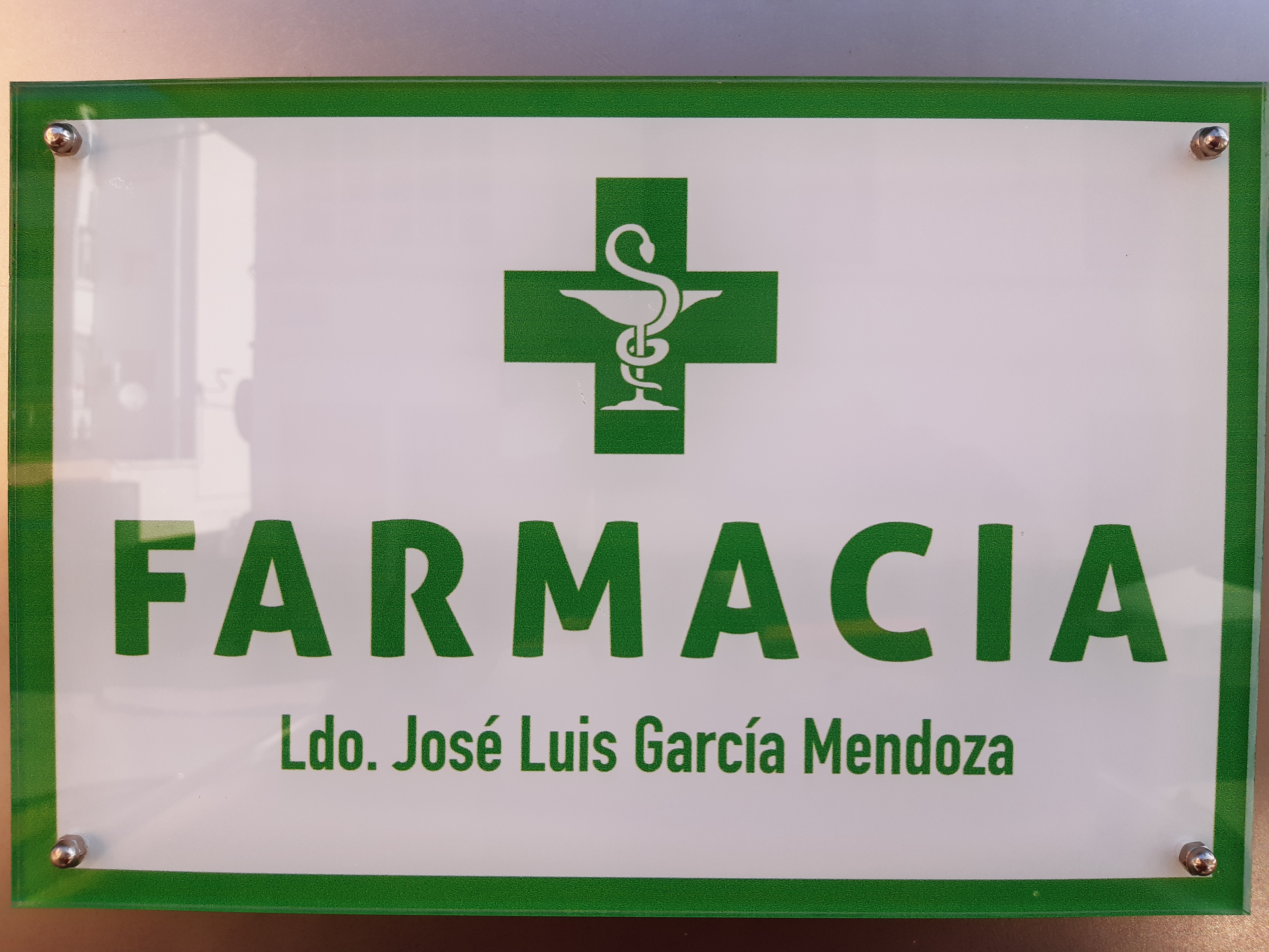 Farmacia Ldo. José Luís García Mendoza